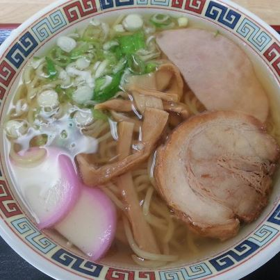 八王子食堂  中華そば(500円)