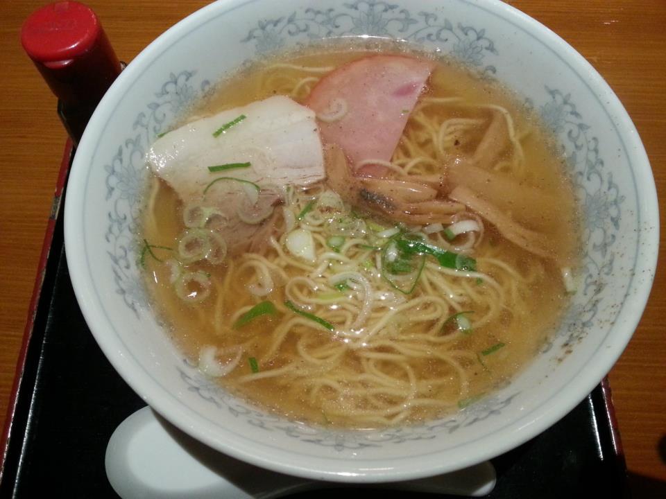 当り矢  中華そば(550円)