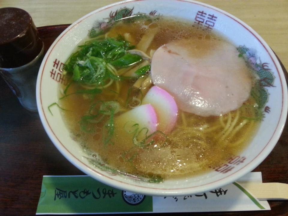 まつもと屋  中華そば(600円)