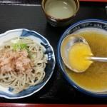 中村屋(勝山)  おろし蕎麦(450円)