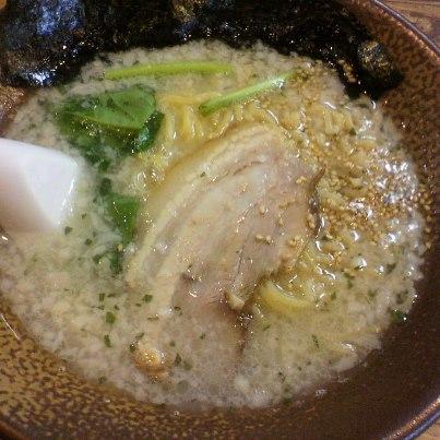 岩本屋の塩ラーメン(730円)