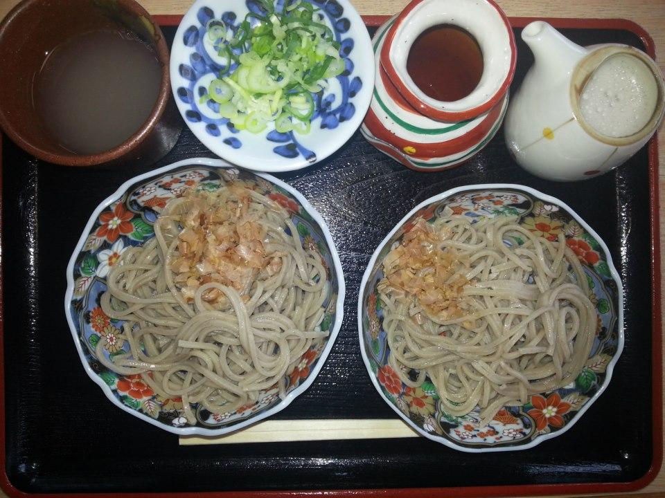 一筆啓上茶屋  辛み蕎麦(600円)