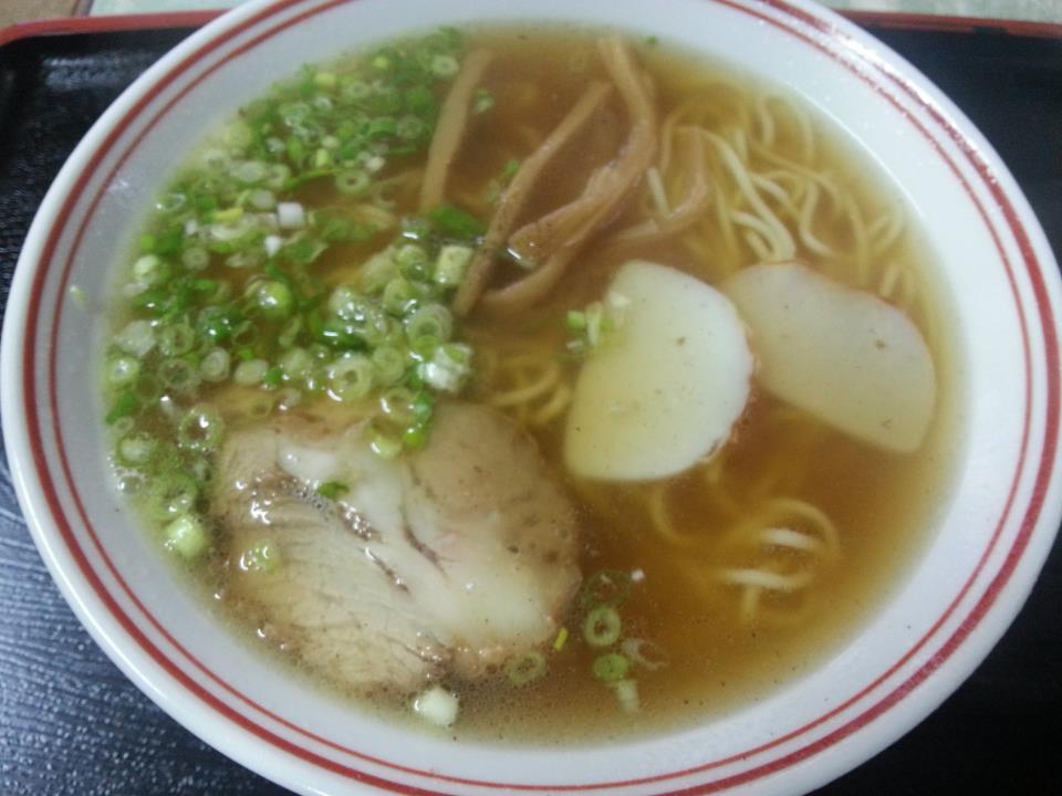 大黒食堂  中華そば(450円)