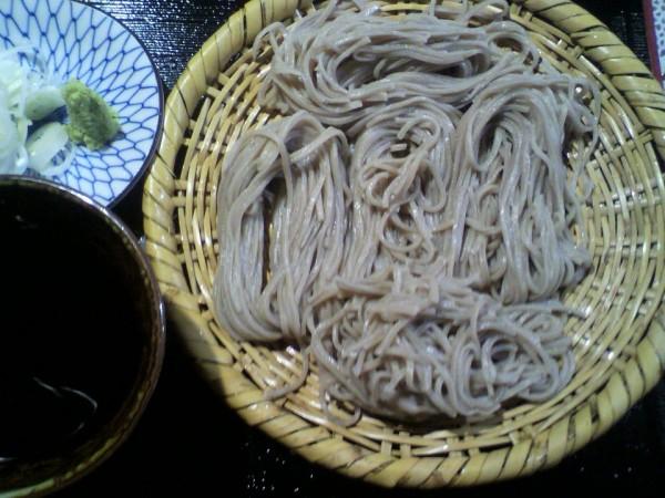 「矢麻武希」 ざる蕎麦