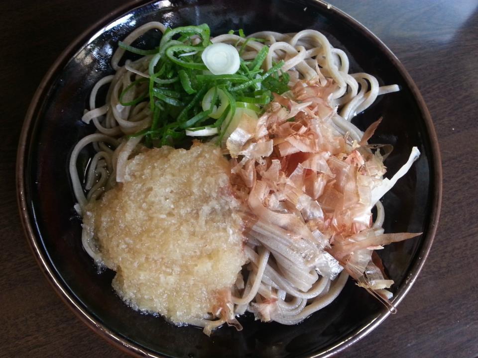 若竹食堂  おろし蕎麦(550円)