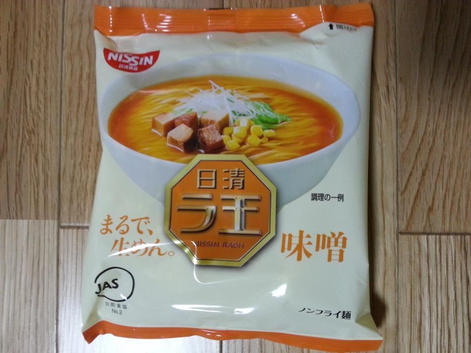 日清ラ王の袋麺を食ってみた…
