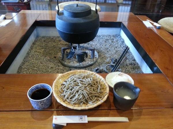 小六庵 ざる蕎麦(700円)