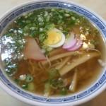 吉田食堂 中華そば(550円)