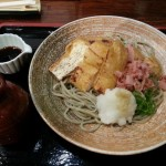 やす竹のあげ焼きおろし(900円)