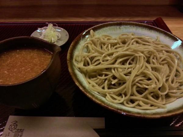 亀蔵おろし蕎麦大盛り(950円)