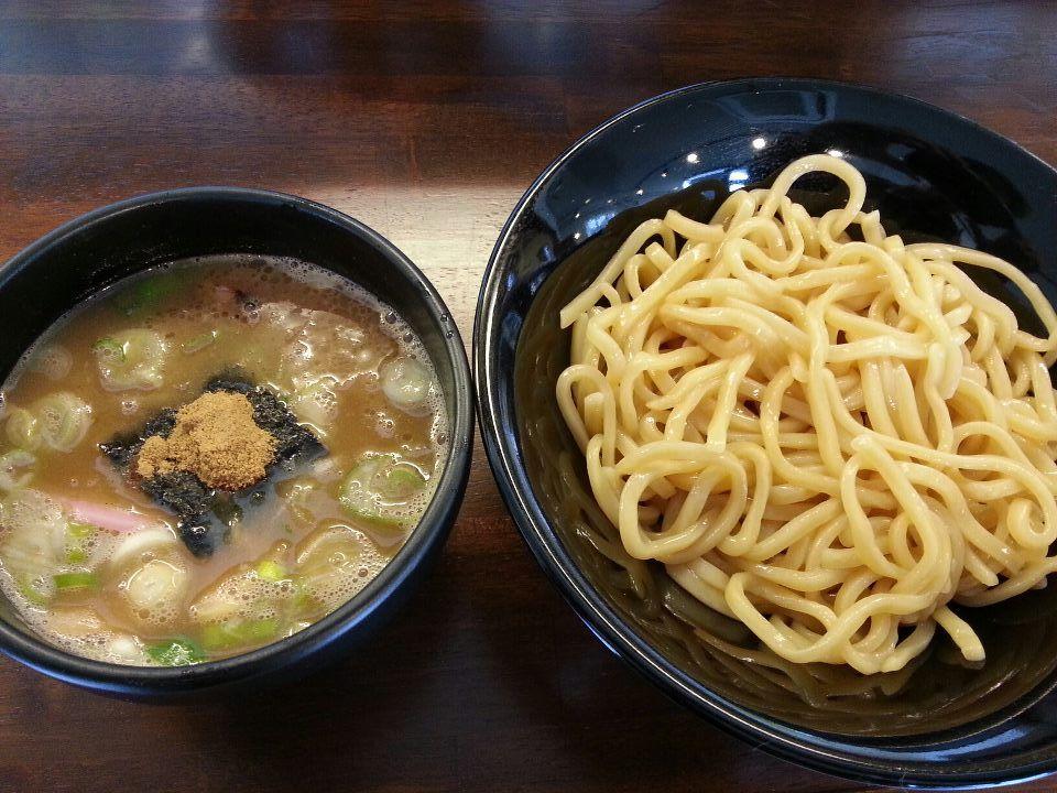 がむしゃら つけ麺(800円)