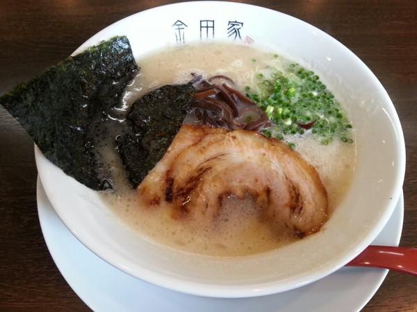 金田家黒豚ラーメン