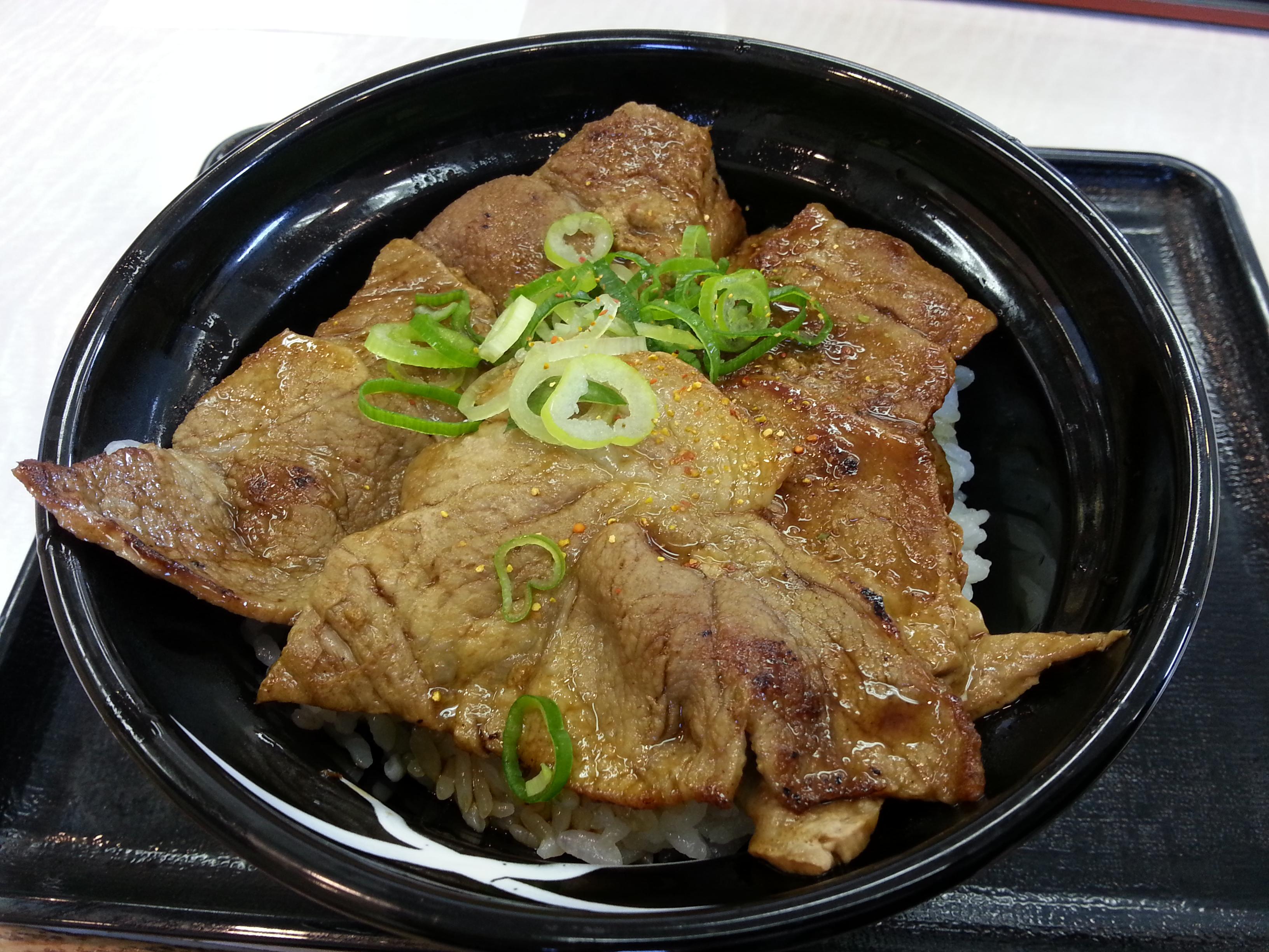 「吉野家」の豚丼